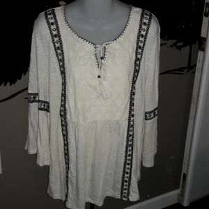 Womens sz 2x Style & Co knitted top